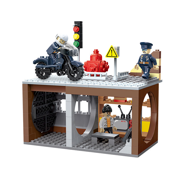 car toys electric police children educational toys-1