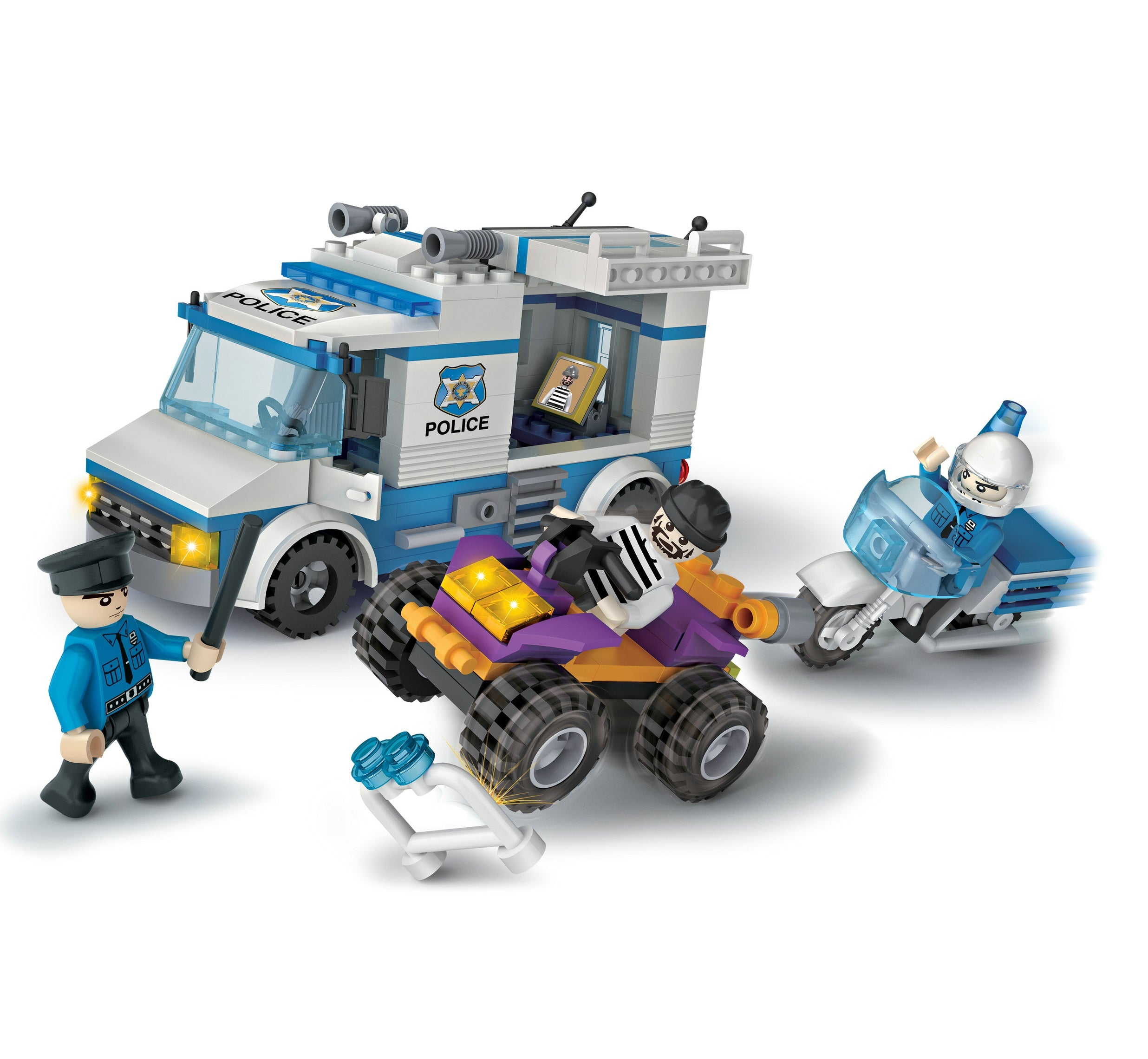 lego-liked police toys for boys-1