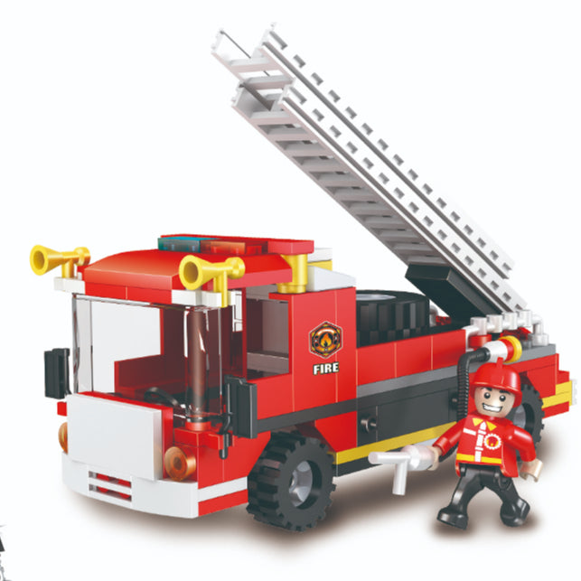 COGO Kids building Blocks plastic block toy legoing building blocks for Fire Set-1