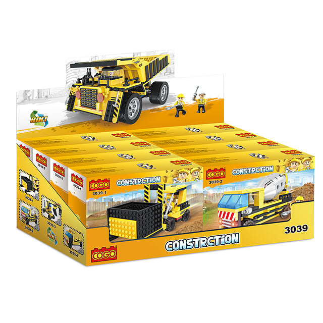 Creative free construction engineering car kids toys set for gift-6