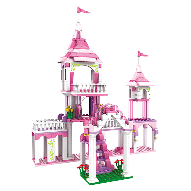 princess prince building block toys-6