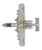Military aircraft bricks toys-4