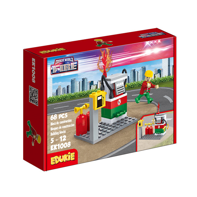 toy fire truck toy fire station educational magic toys for kids-2