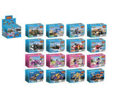 ABS Bricks Toys For 6 Year Girls Educational toy build brick number block-6