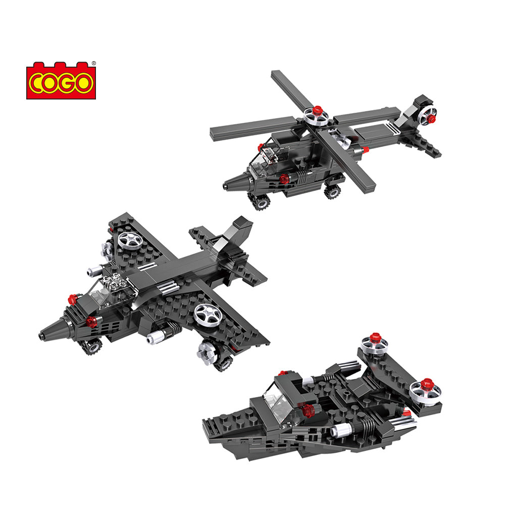 Helicopter building model blocks toys for kids-1