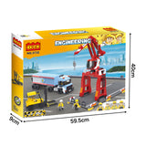 Popular engineering crane truck play toy-3