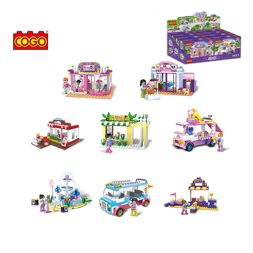 8 in 1 Girls educational building block-1