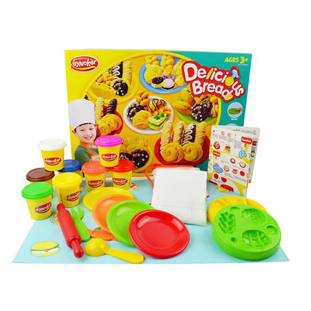 play dough machine full set plasticine diy toy-1