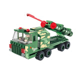 Military truck building block set-4