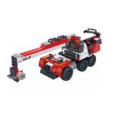 Creative free construction Crane car kids toys for gift-2