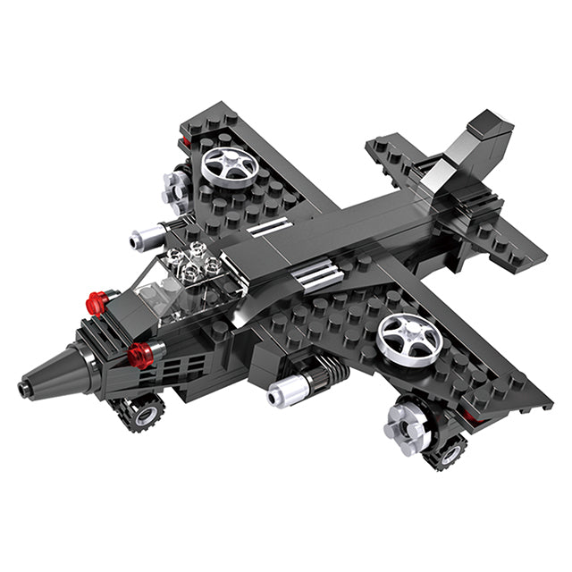 Crestive 3 in 1 combination airplane building bricks kids toys-1