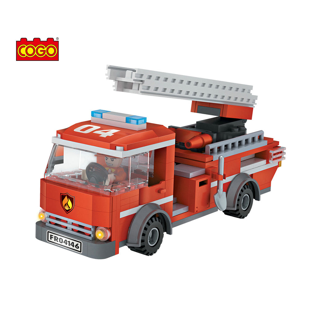 plastic building blocks building blocks brick toy for fire station set-2