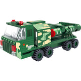 Military truck building block set-2