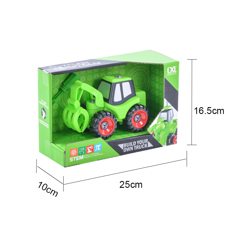 engineering toys for kids engineering construction toy car-2