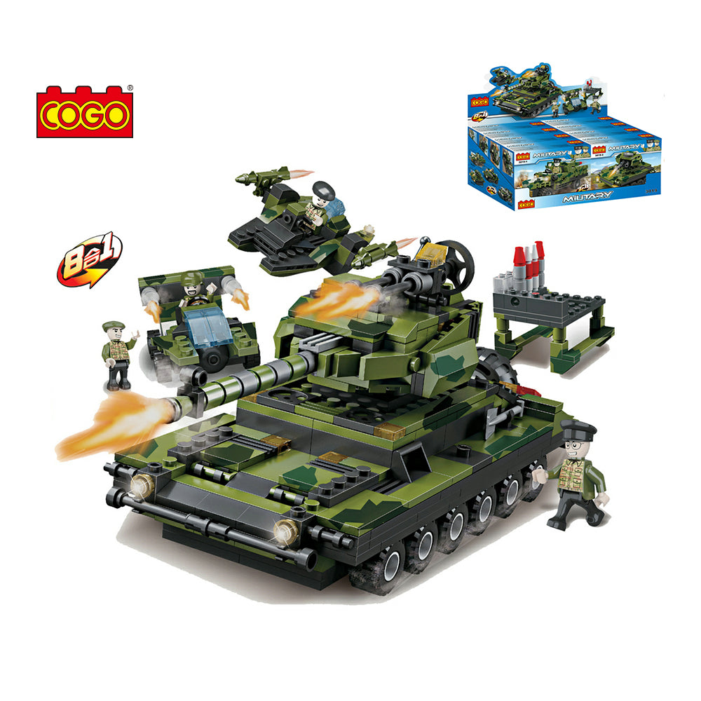 Military Vehicles Series Car-1