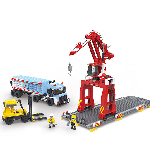 Popular engineering crane truck play toy-1