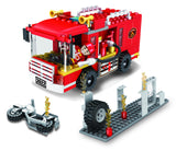 COGO Kids building Blocks plastic block toy legoing building blocks for Fire Set-2