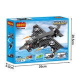 Crestive 3 in 1 combination airplane building bricks kids toys-5