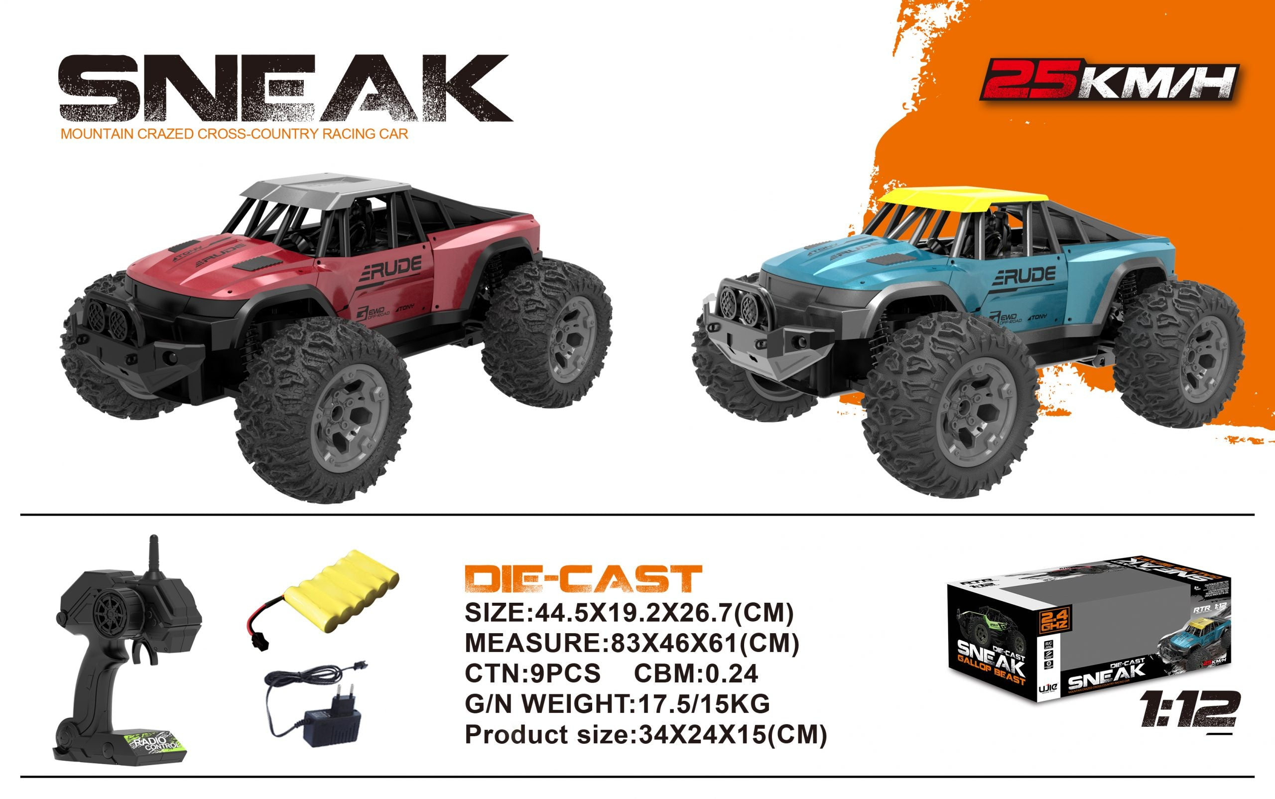 off road remote control car-3