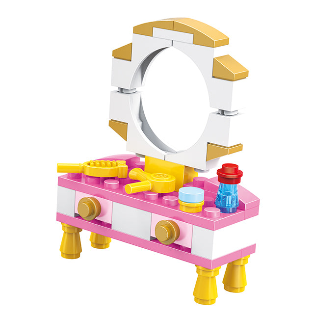 girls wardrobe building blocks toys-4