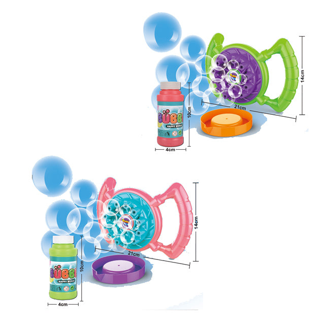 electric bubble blower toy hand bubble gun toy-1