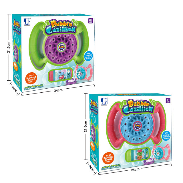 electric bubble blower toy hand bubble gun toy-2