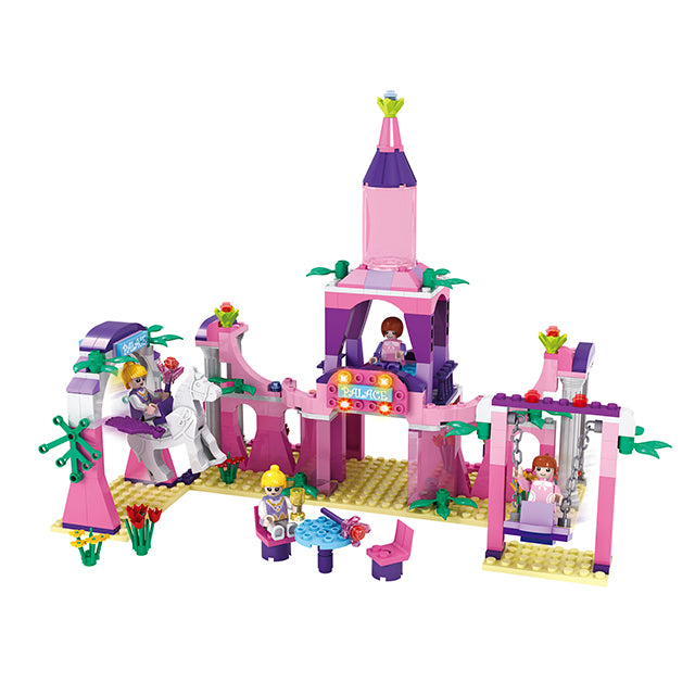 Princess party building block toys-3