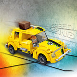 New style kit racing car toy plastic build block toys for children-4