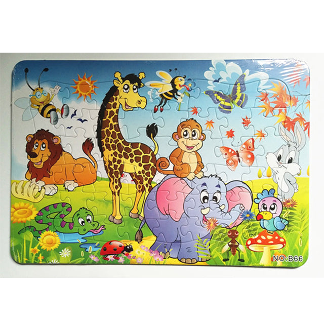 puzzle board game jigsaw puzzle for kid plain puzzle cartoon puzzle-1