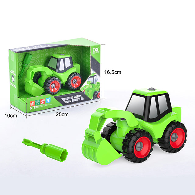 engineering toy car engineering construction toy car-1