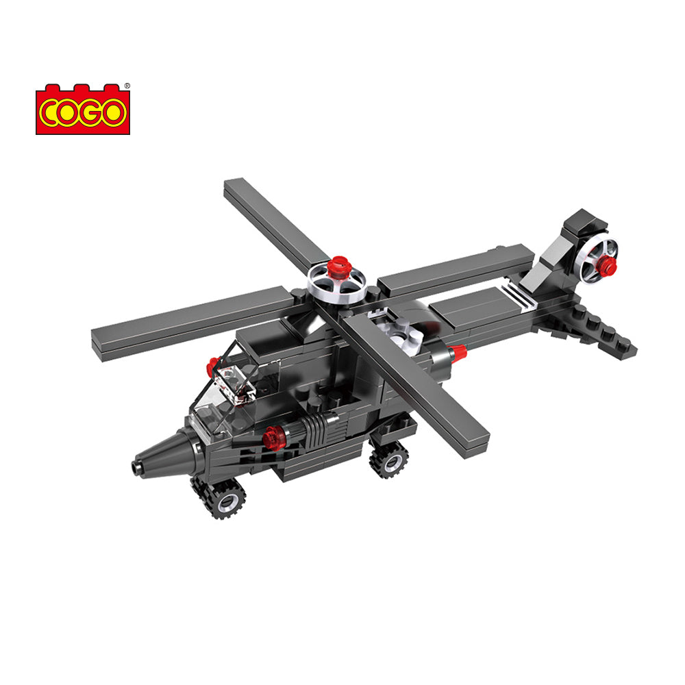 Helicopter building model blocks toys for kids-2