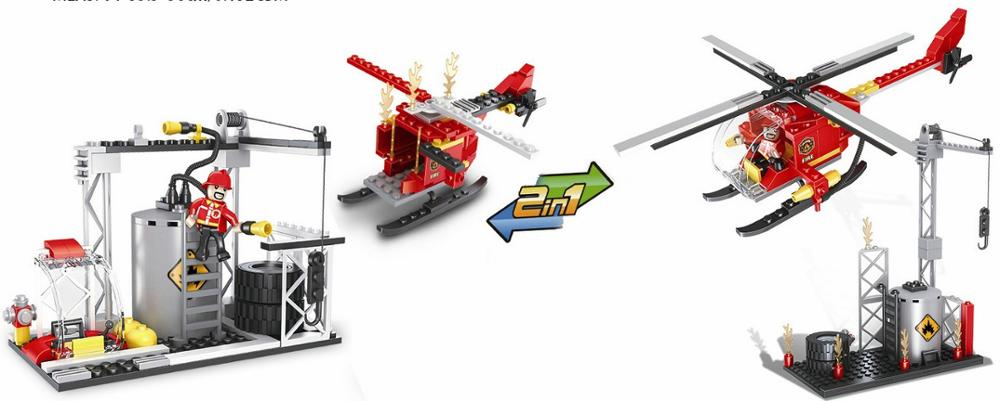 COGO fire series building block set-2