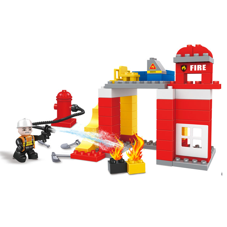 DIY Legoed duplo building blocks brick toys set for kids-1