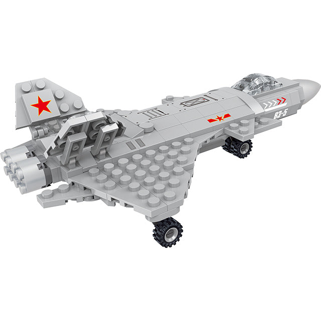 aBS military series plane puzzle building block toy set-3