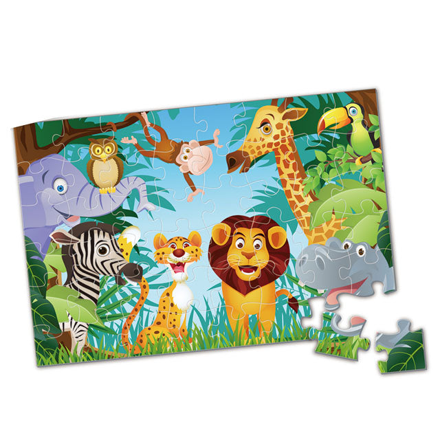 Animal puzzle custom puzzle game jigsaw puzzle manufacture-1