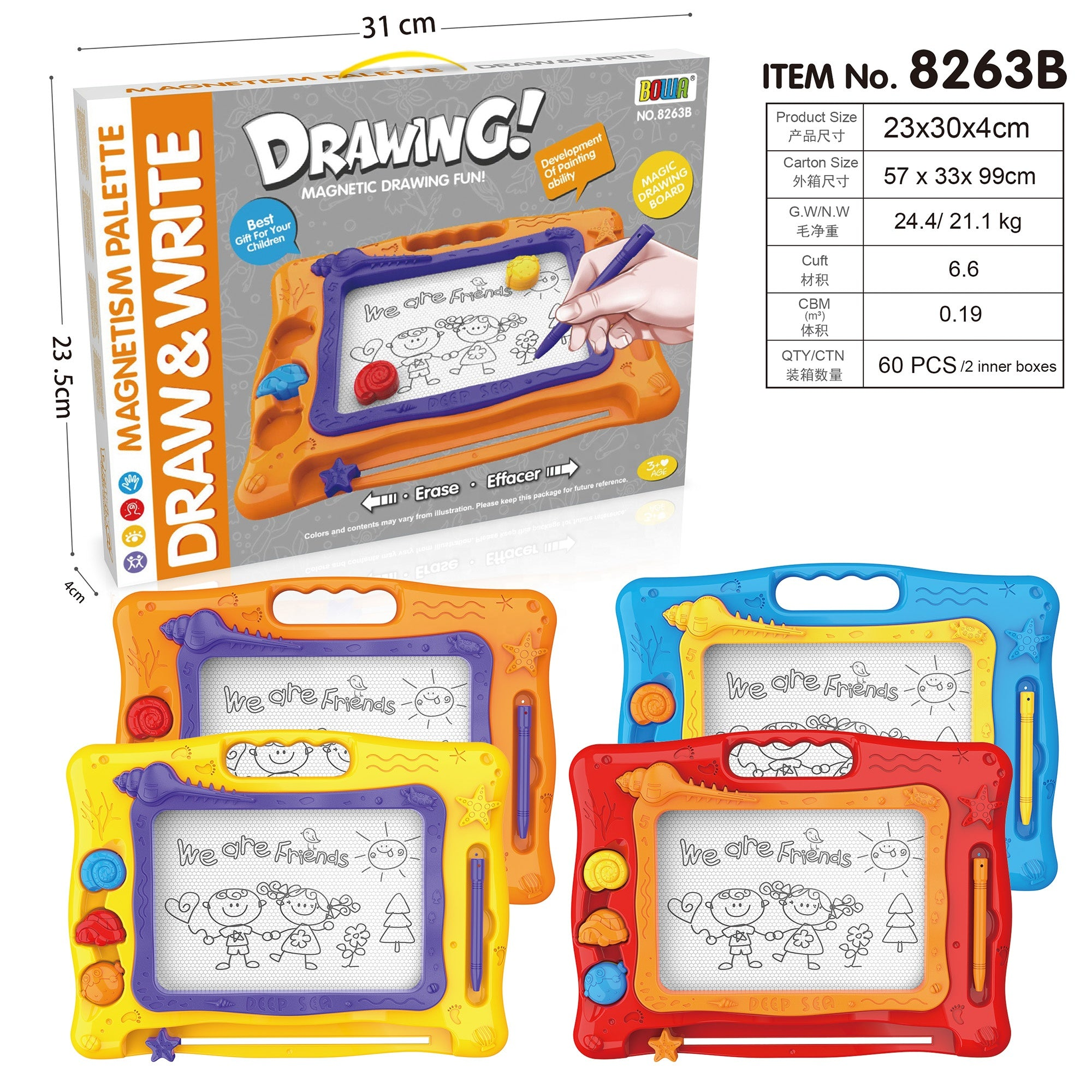 kids white board toy-6