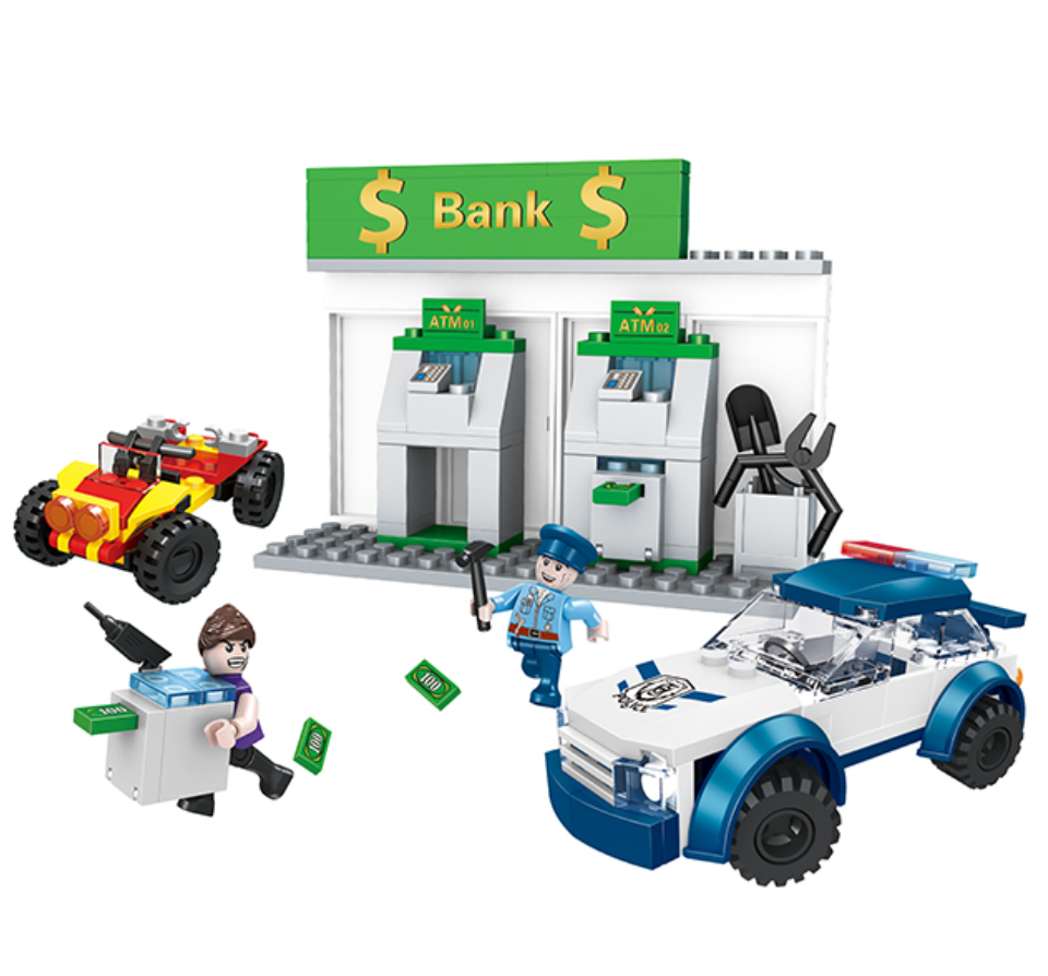 bank ATM building block toys-1