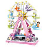 sky wheel brick toys for girl-3