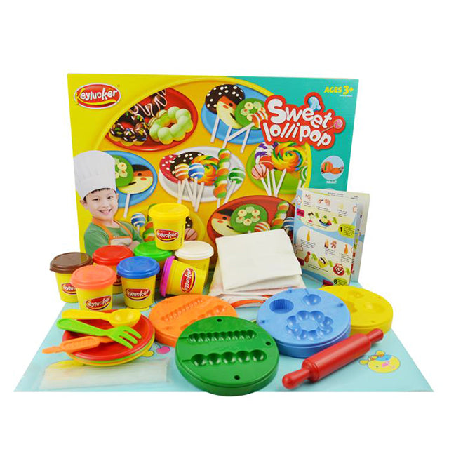 clay slime set for kid clay set with moulds kid-1