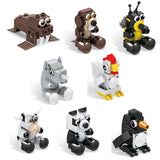 bricks blocks animal sets-3