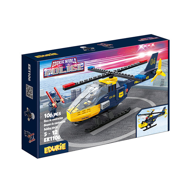 police toy plane educational activity toy-2