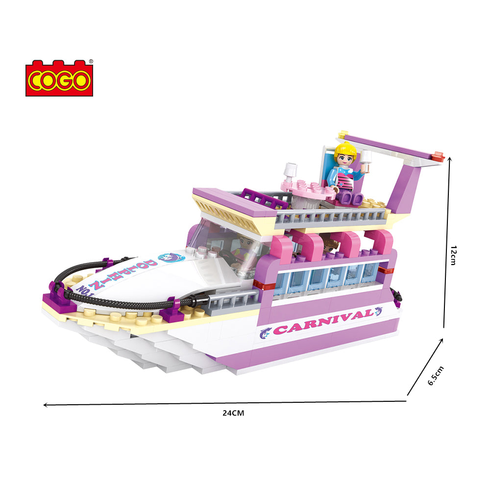 luxury boat model block toys-4