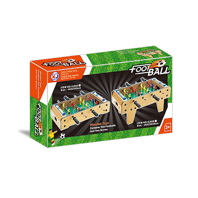 Wooden football soccer table game football table soccer game kids toys-2