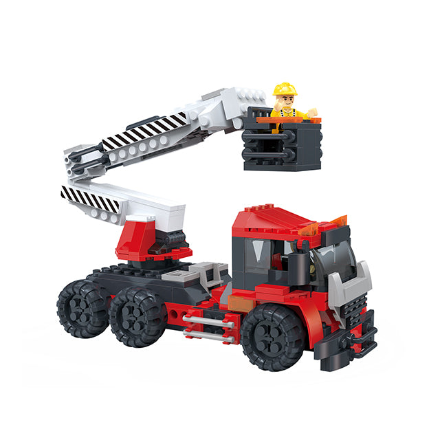Creative free construction Crane car kids toys for gift-1