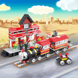 Legoing city play set building blocks-2