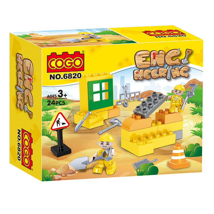 Engineering Brick And Block Children Play Set-2