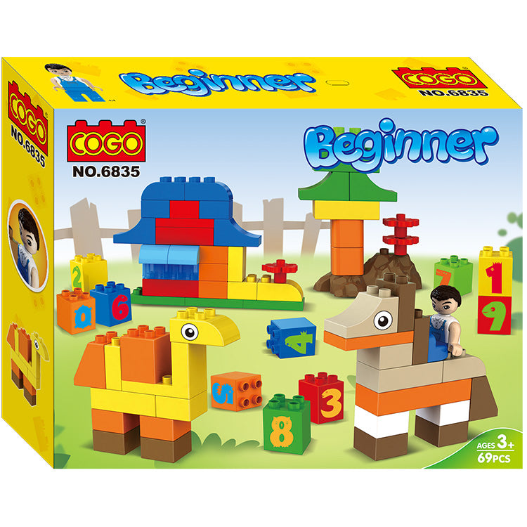 Compatible Duplo creative Building Blocks-2