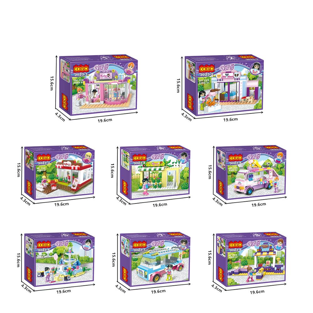 8 in 1 Girls educational building block-5