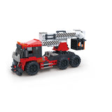 Creative free construction Crane car kids toys for gift-4