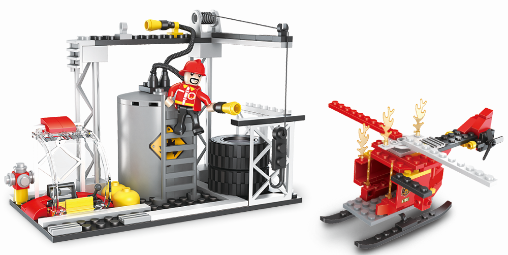COGO fire series building block set-3